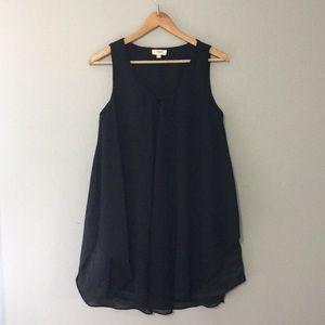 Umgee Black Swing Dress